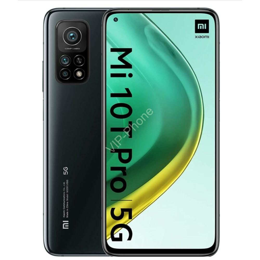 Xiaomi Mi 10T Pro 5G Dual Sim 128GB Fekete kártyafüggetlen mobiltelefon