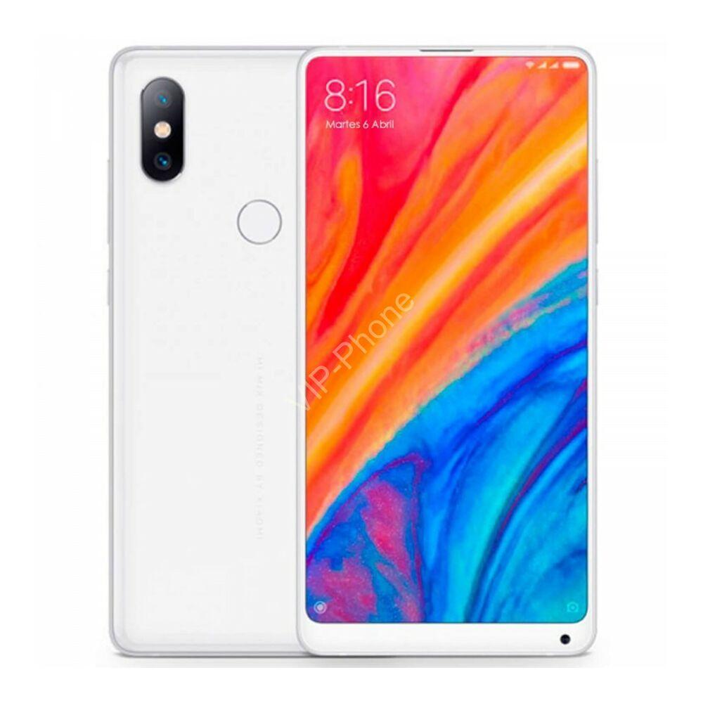 Xiaomi Mi Mix 2S 128GB Dual-Sim fehér gyártói garanciás kártyafüggetlen mobiltelefon