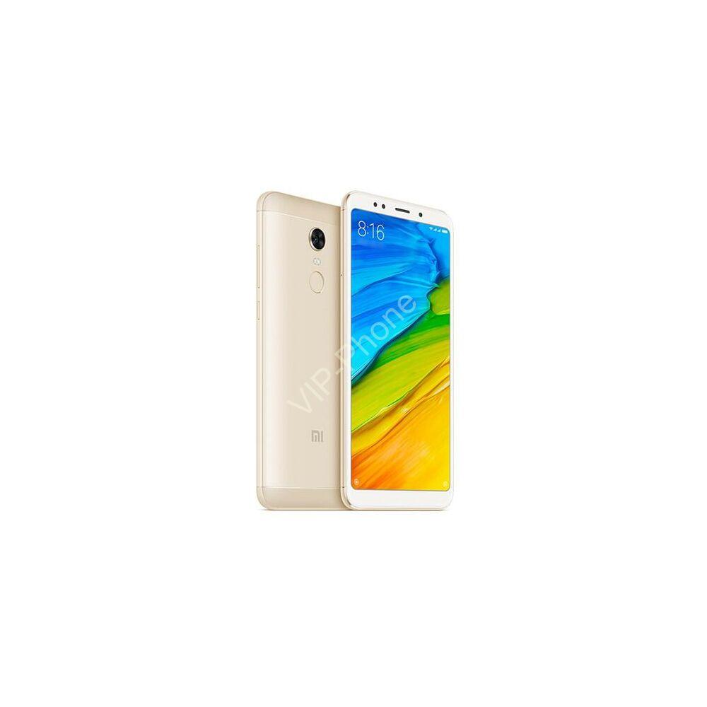 Xiaomi Redmi 5 Plus 32GB Dual-Sim arany gyártói garanciás kártyafüggetlen mobiltelefon