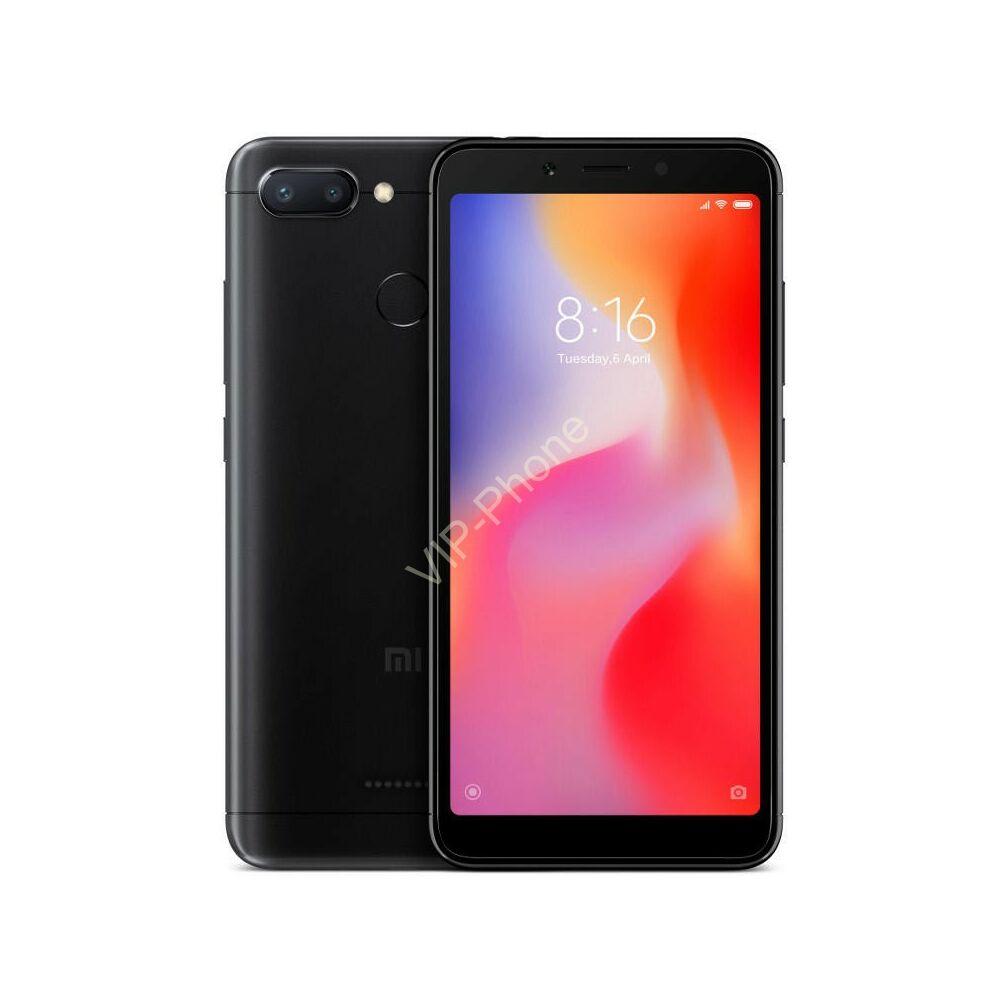Xiaomi Redmi 6 32GB Dual-Sim fekete gyártói garanciás kártyafüggetlen mobiltelefon