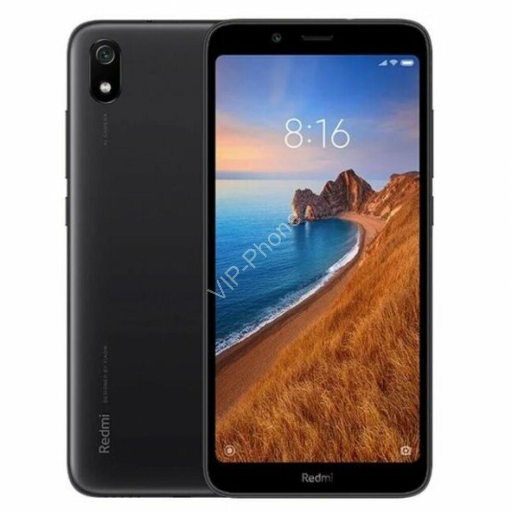 Xiaomi Redmi 7A 2/16GB Dual-Sim fekete gyártói garanciás kártyafüggetlen mobiltelefon