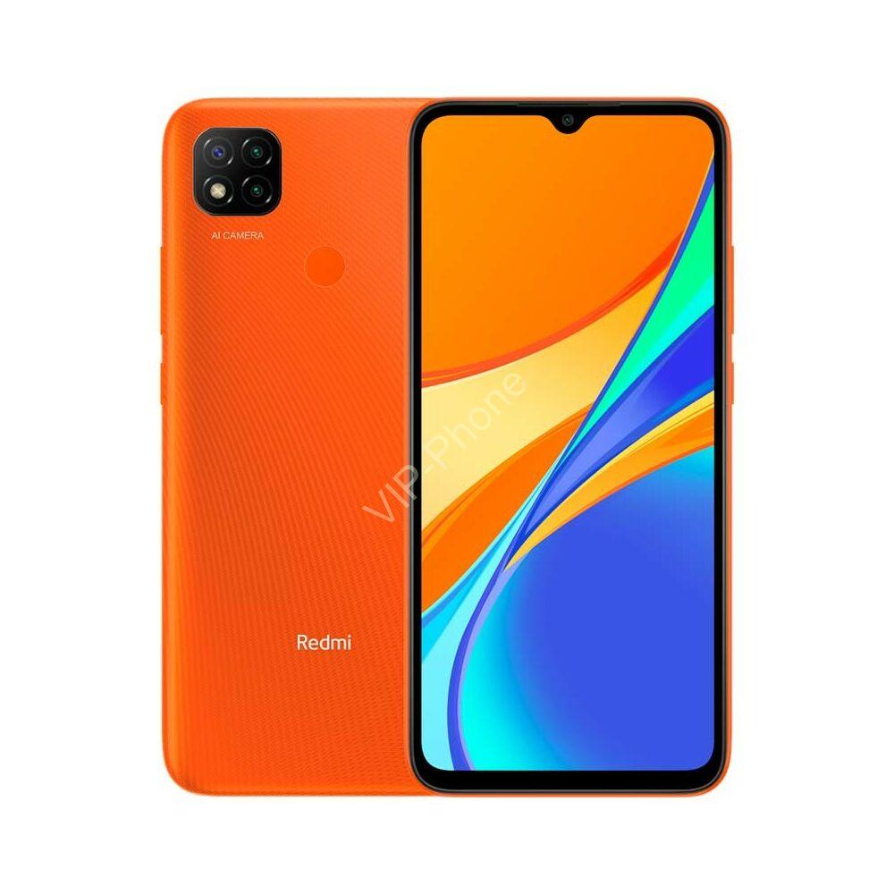 Xiaomi Redmi 9C 2/32GB Dual Sim Narancs kártyafüggetlen mobiltelefon