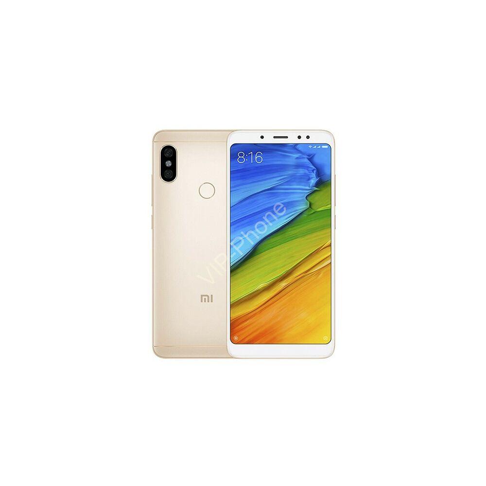 Xiaomi Redmi Note 5 64GB Dual-Sim arany gyártói garanciás kártyafüggetlen mobiltelefon