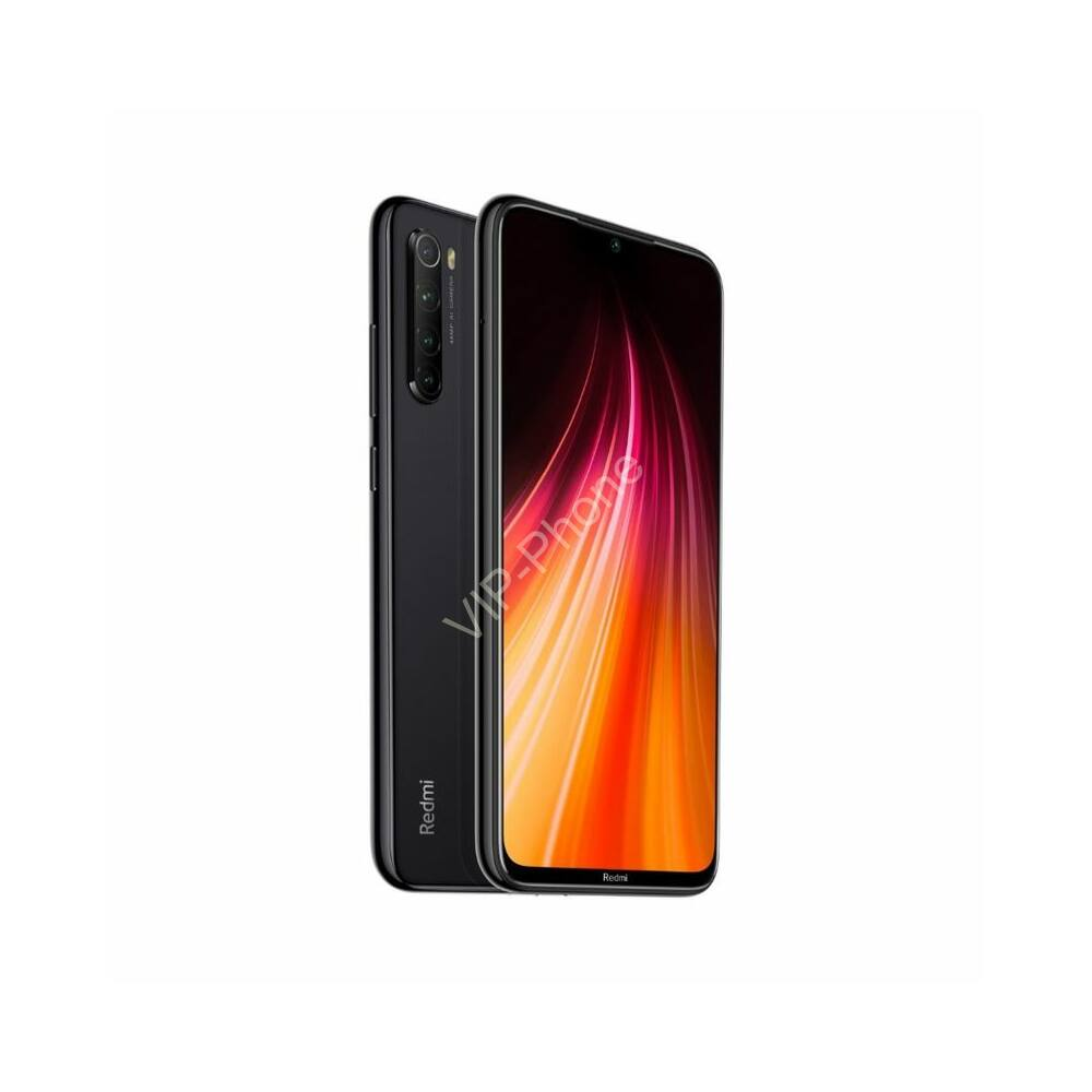 Xiaomi Redmi Note 8 4/64GB Dual-Sim fekete kártyafüggetlen mobiltelefon
