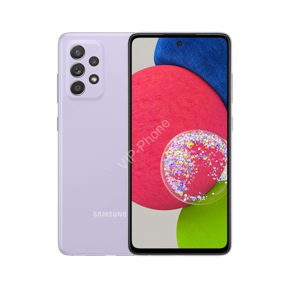 Samsung Galaxy A52s 5G A528 Dual Sim 6GB RAM 128GB -Kártyafüggetlen mobiltelefon- Lila