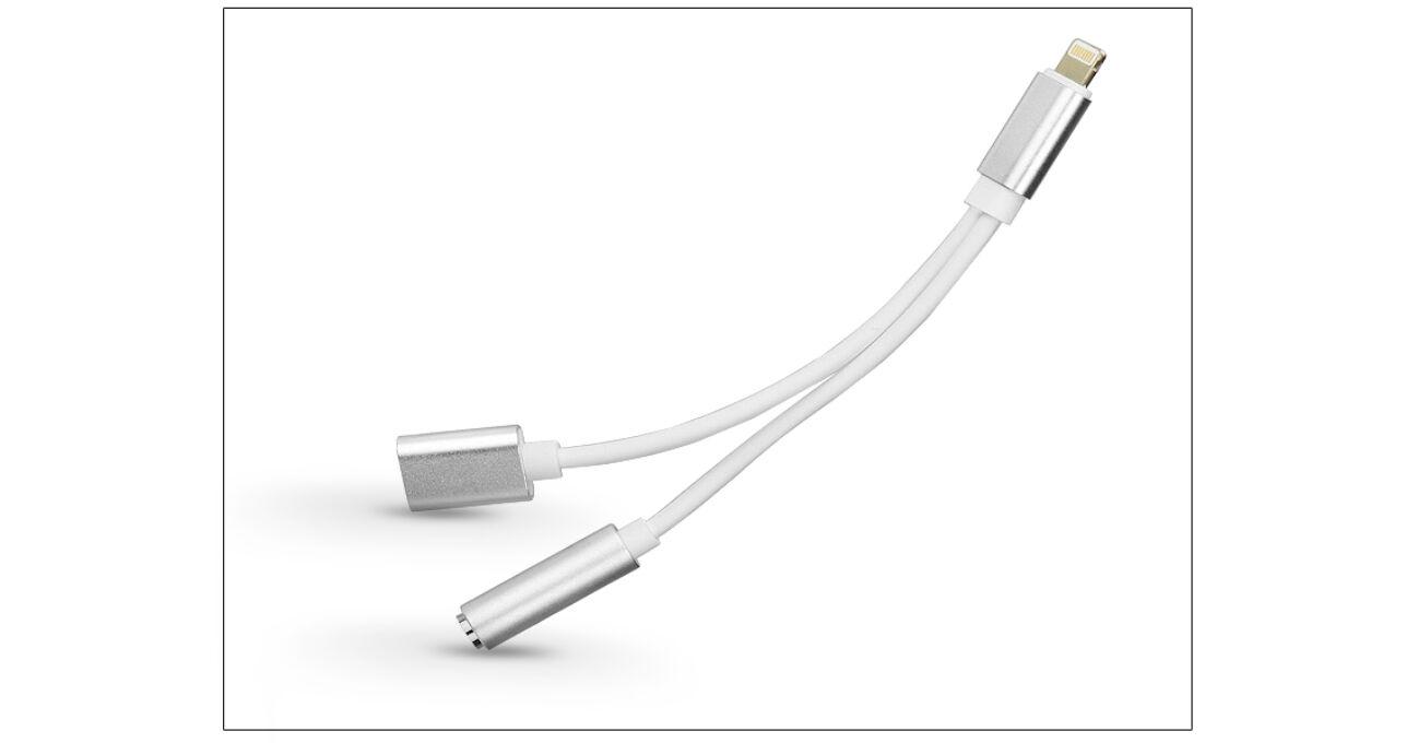 USB Type-C adapter 3,5 mm jack füllhallgatóhoz/Type-C
