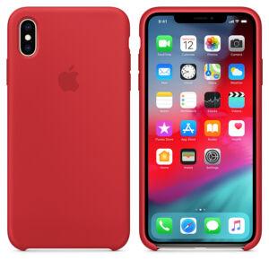 APPLE IPHONE XS GYÁRI SZILIKON HÁTLAP TOK, PIROS (PRODUCT)RED, MRWC2ZM/A