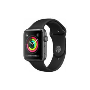 Apple Watch Series 3 38mm Aluminum Gray Black MQKV2 okosóra