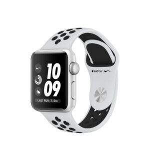 Apple Watch Series 3 Nike+ 38mm Aluminium Silver Platinum Black MQKX2 okosóra