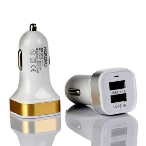 USB szivargyújtós töltőfej 2.1A