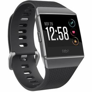 FITBIT IONIC WATCH OKOSÓRA , S & L, CHARCOAL / SMOKE GRAY