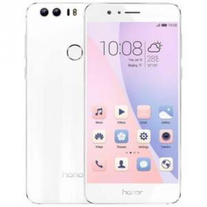 HASZNÁLT Honor 8 32GB Dual-SIM fehér kártyafüggetlen mobiltelefon