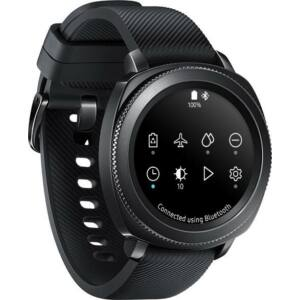 Samsung R600 Gear S3 Sport fekete okosóra