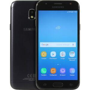 Samsung J330F Galaxy J3 (2017) Dual-Sim fekete gyártói garanciás kártyafüggetlen mobiltelefon