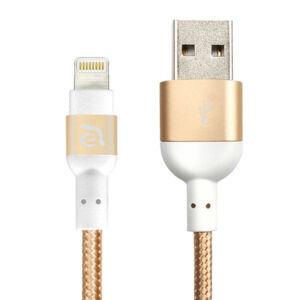 Adam Elements PeAk Lightning/USB kábel 120 cm MFI, arany