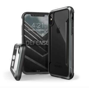 Defense Shield védőtok iPhone X fekete