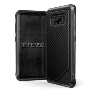 Defense Lux védőtok Samsung S8 Fekete Karbon
