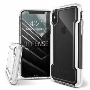 Defense Clear védőtok iPhone X/Xs Fehér