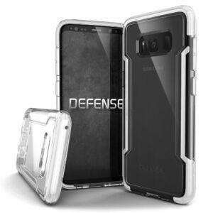 Defense Clear védőtok Samsung S8 Fehér