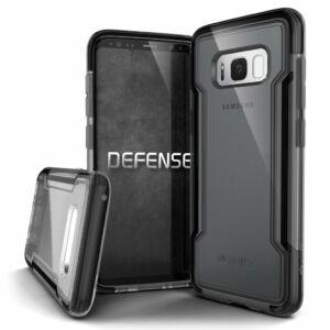 Defense Clear védőtok Samsung S8 Fekete