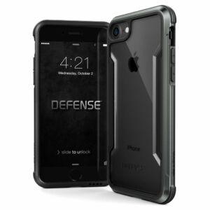Defense Shield védőtok iPhone 7 / 8 Fekete