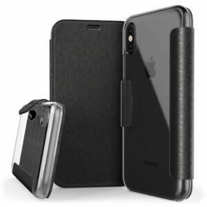 Engage Folio védőtok iPhone X Fekete