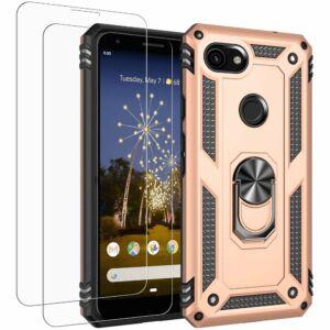 Defender műanyag ütésálló tok, ARANY Samsung Galaxy S20 FE (SM-G780) számára
