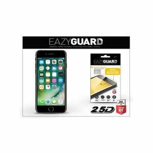 Apple iPhone SE 2020, Iphone 7, Iphone 8 - gyémántüveg képernyővédő fólia - Diamond Glass 2.5D Fullcover - fekete