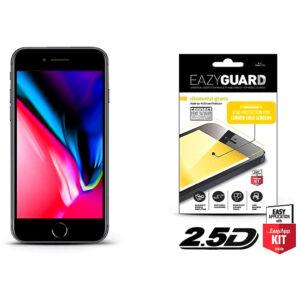 Apple Iphone SE 2020 / iPhone 8 / Iphone 7 gyémántüveg képernyővédő fólia - Diamond Glass 2.5D Fullcover - fekete