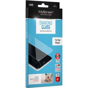 Apple Iphone SE 2020 / Iphone 8 / Iphone 7 - MYSCREEN DIAMOND GLASS képernyővédő üveg (extra karcálló, ütésálló, 0.33mm, 9H, nem íves) ÁTLÁTSZÓ