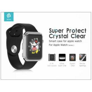 Apple Watch 4 védőtok - Devia Ice Clear Series 44 mm - transparent