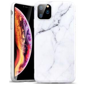 ESR MARBLE Hátlap tok, Apple Iphone 11 , fehér