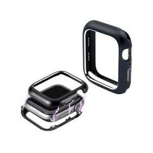 Fém keret (mágneses) FEKETE Apple watch 4 / 5 44mm
