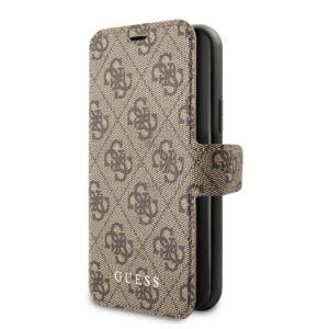 Guess Flip tok Barna (GUFLBKSN584GB) Apple iPhone 11 Pro készülékhez