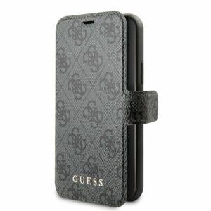 Guess Flip tok Szürke (GUFLBKSN584GG) Apple iPhone 11 Pro készülékhez