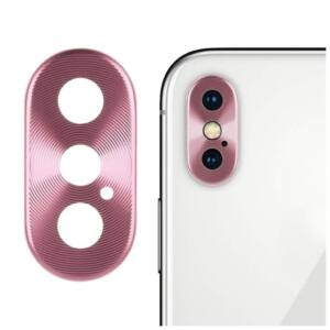 Kamera védő rózsaszín, Apple Iphone 11