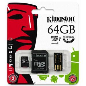 Kingston 64 GB microSDHC™ UHS-1 90MB/s memóriakártya