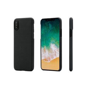 Pitaka tok Black/Gray Plain (KI9002XM) Iphone Xs Max készülékhez