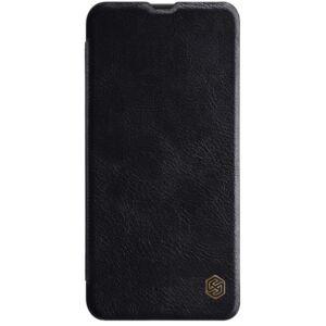 Samsung A505 Galaxy A50 - NILLKIN QIN tok álló, bőr (FLIP, oldalra nyíló, bankkártya tartó) FEKETE