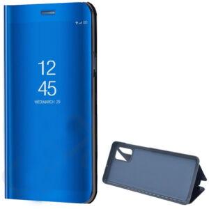 Samsung A515F Galaxy A51 Tok álló (aktív flip, oldalra nyíló, asztali tartó funkció, tükrös felület, Mirror View Case) KÉK