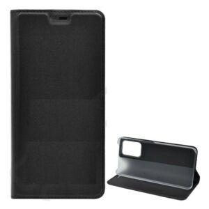 Samsung A525 / A526 Galaxy A52 (5G) Tok álló, bőr hatású (FLIP, oldalra nyíló, asztali tartó funkció) FEKETE