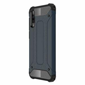 Samsung A705F Galaxy A70 ütésálló hátlap - Armor - fekete