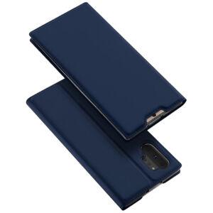 Samsung G770 Galaxy S10 Lite DUX DUCIS SKIN PRO tok álló, bőr hatású  SÖTÉTKÉK