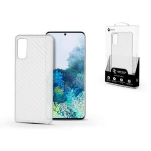 Samsung G980F Galaxy S20 szilikon hátlap - Roar Carbon Armor Ultra-Light Soft Case - clear