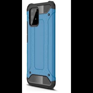 Samsung Galaxy S10 Lite (SM-G770F Defender műanyag telefonvédő (közepesen ütésálló, légpárnás sarok, szilikon belső, fémhatás) VILÁGOSKÉK