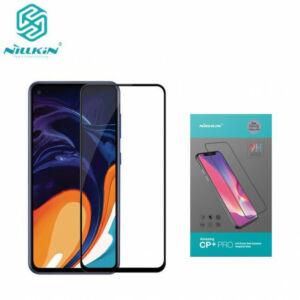 Samsung Galaxy S10 Lite (SM-G770F) NILLKIN CP+ PRO képernyővédő üveg (2.5D kerekített szél, íves, full glue, karcálló, UV szűrés, 0.33mm, 9H) FEKETE