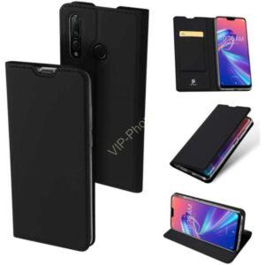 Samsung Galaxy S20 Plus (G985) DUX DUCIS SKIN PRO tok álló, bőr hatású (FLIP, oldalra nyíló, bankkártya tartó, asztali tartó funkció) Fekete