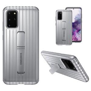 Samsung Galaxy S20 Plus (G985)  GYÁRI STANDING COVER, HÁTLAPTOK EF-RG985CS, EZÜST