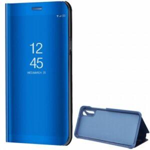 Samsung Galaxy S20 Plus (G985) Mirror View Case álló fliptok - Világoskék