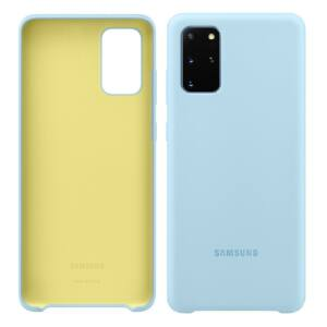 Samsung Galaxy S20 Plus (G985F) SILICONE COVER, GYÁRI SZILIKON TOK, VILÁGOSKÉK EF-PG985TL